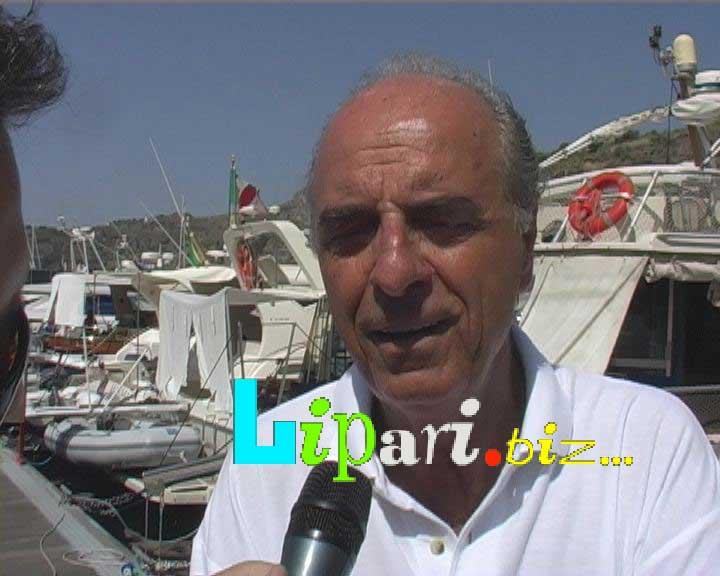 Mario Pescante a Lipari