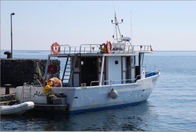 Vendesi barca da pesca lipari eolie sicilia for Barca a vapore per barche da pesca