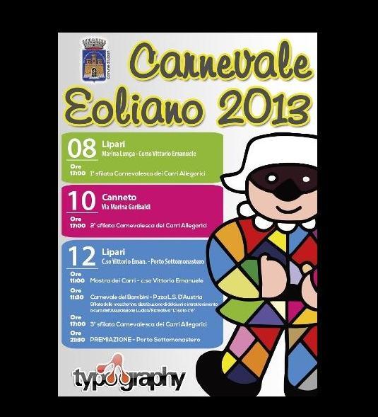Carnevale eoliano, alle 17,30 conferenza al Comune
