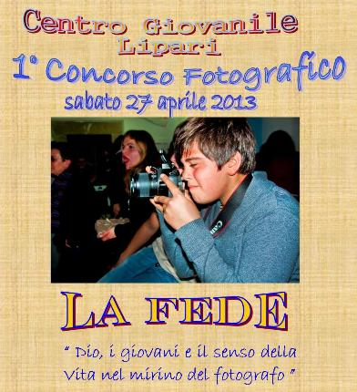 1° concorso fotografico del Centro Giovanile