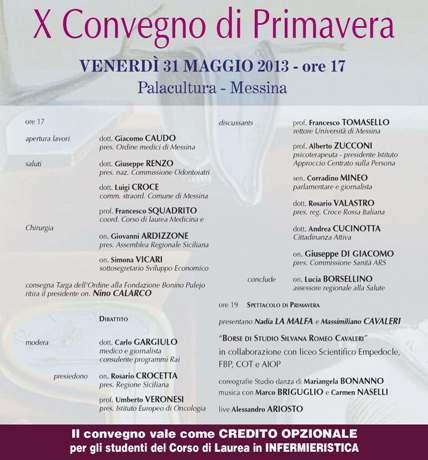Veronesi e Crocetta a Messina