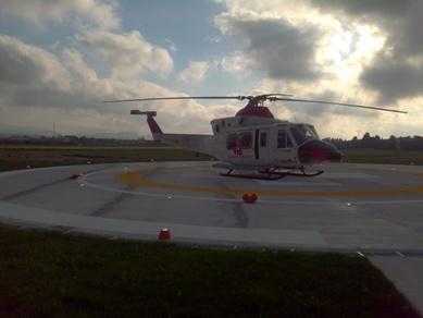 L'elicottero non vola,infartuato bloccato a Lipari