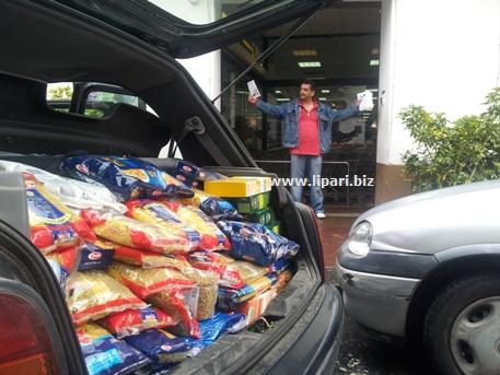 Banco alimentare solidale, lunedì distribuzione