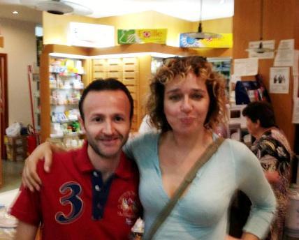 Valeria Golino a Lipari