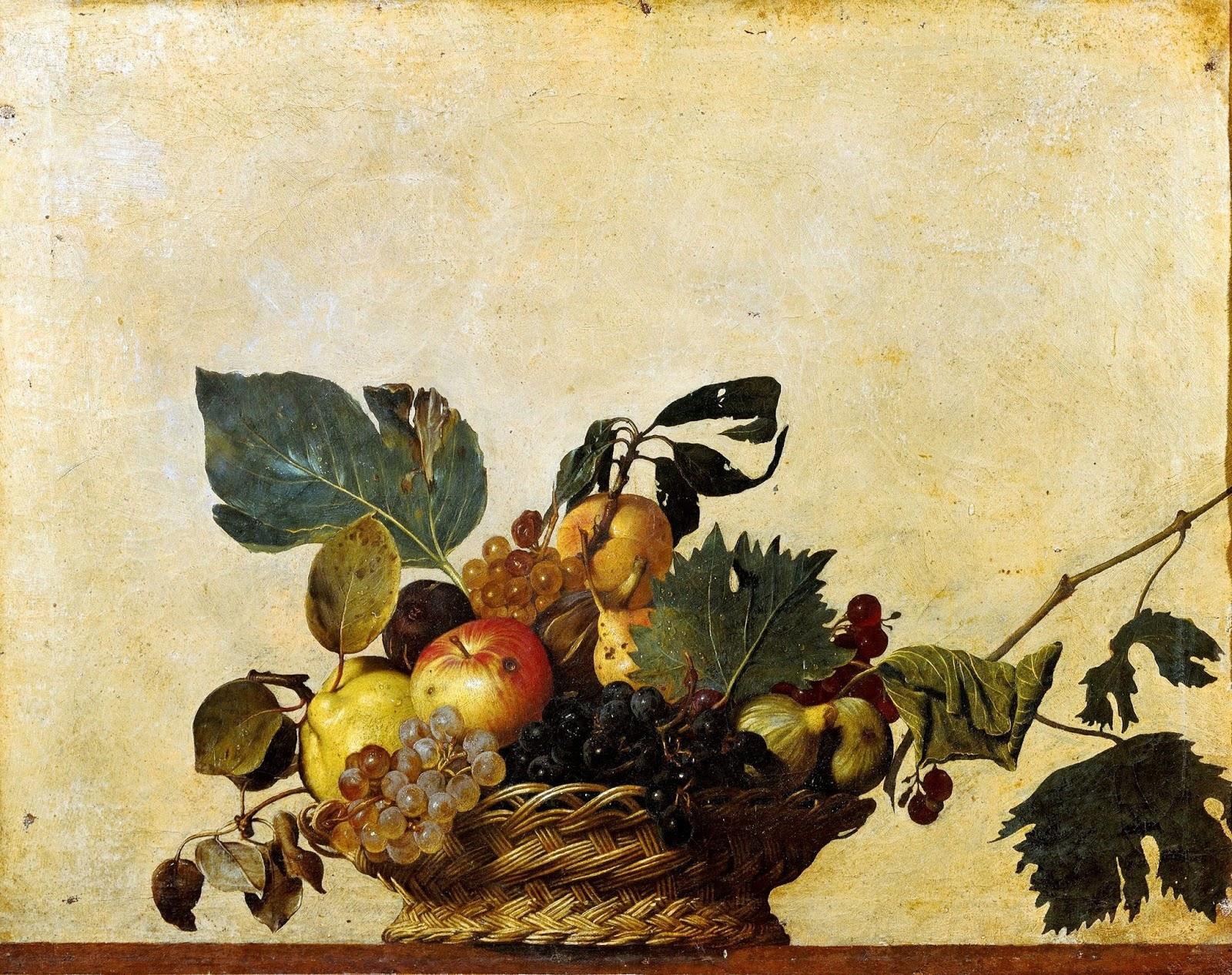 Caravaggio e il Maestro di Hartford: l'esplosione della natura morta   1° Parte