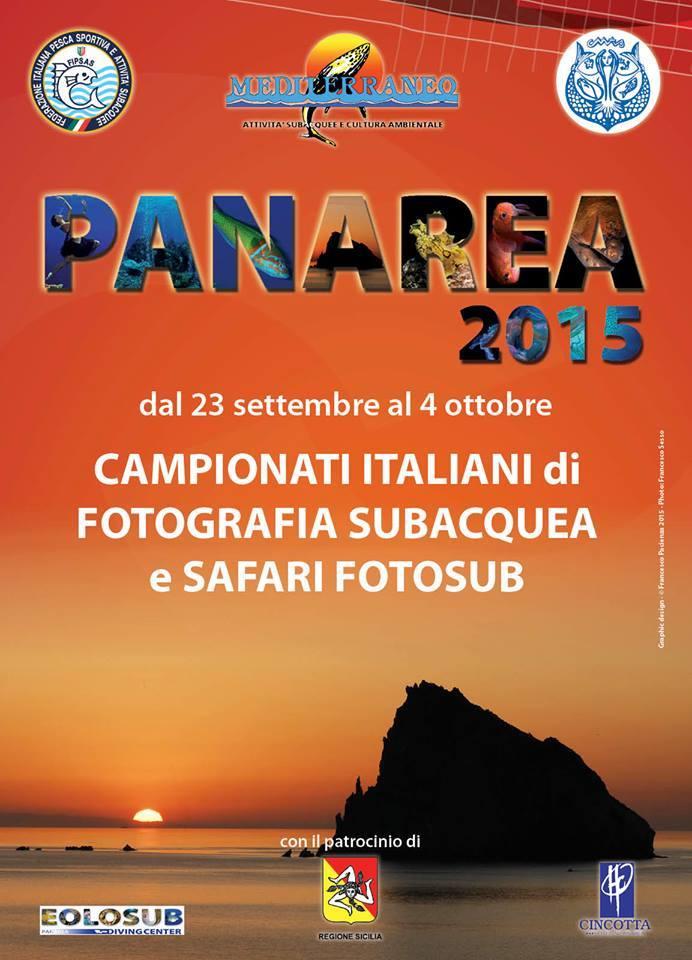 Campionati Italiani di Fotografia Subacquea e di Safari Fotosub a Panarea