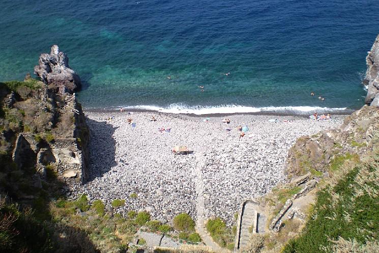 Una meta ideale: la spiaggia dello Scario