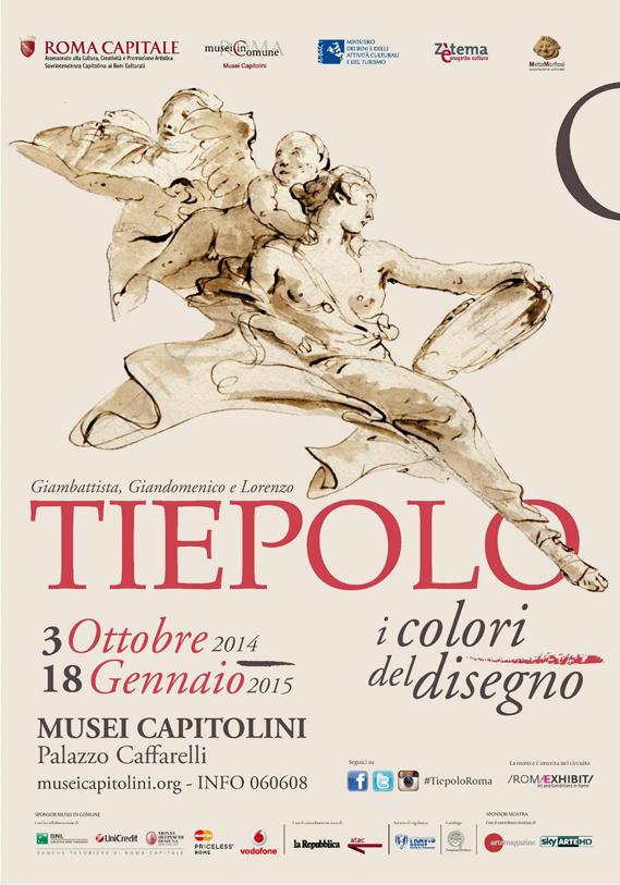 Giambattista, Giandomenico e Lorenzo Tiepolo. I colori del disegno.