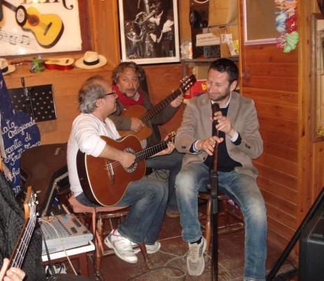 Rizzo&Lo Cascio, uno le suona l'altro le canta