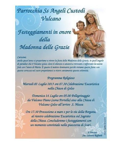 Festeggiamenti Madonna delle Grazie a Gelso
