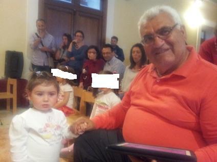 Russo, con i nipoti tutta un'altra... politica