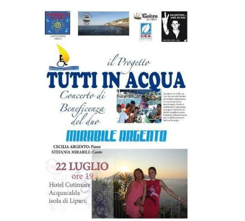 """Stasera ad Acquacalda per """" Tutti in Acqua"""""""