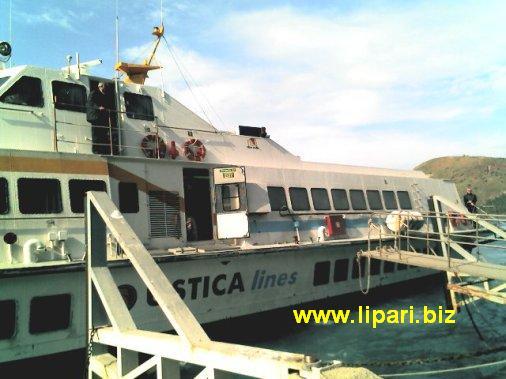 Aliscafi, alle 18 parte Ustica Lines da Milazzo