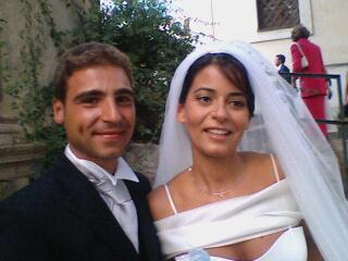 Alfonso e Angela sposi