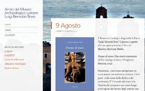 Amici del museo, c'è il sito web