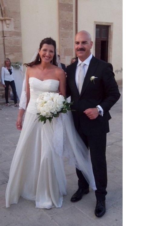 La madrina del Premio Tindari 2012 sposa