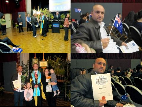 Da Lipari orgogliosamente cittadino australiano