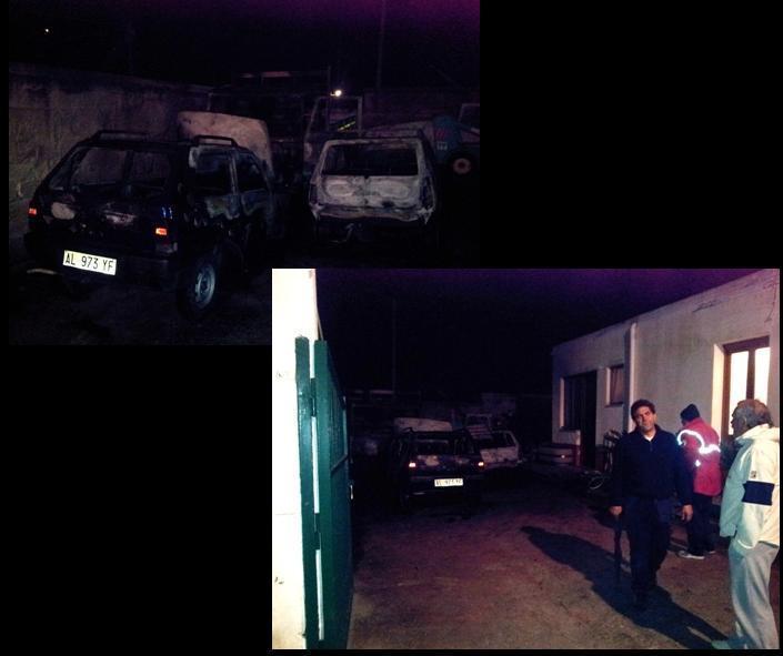Comune di Lipari, altri tre mezzi a fuoco