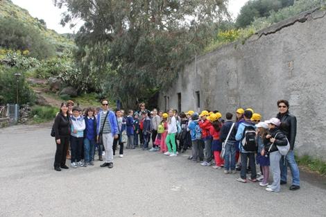 Bambini scuola Canneto scoprono museo