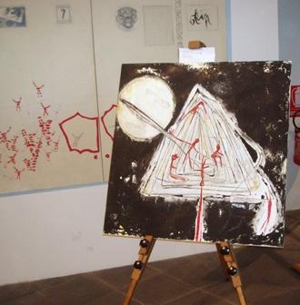 La Salzano alla Biennale d'arte di Firenze