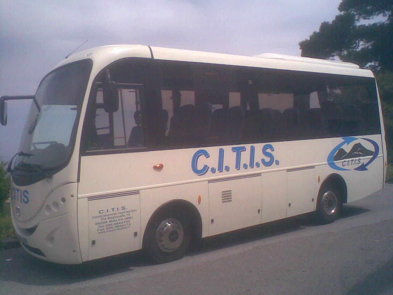 Salina, si fermano i bus del Citis