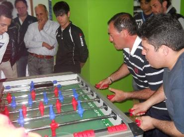 Calcio balilla, a Natoli e Finocchiaro il torneo