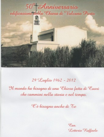 Festeggiato anniversario chiesa Madonna Pompei
