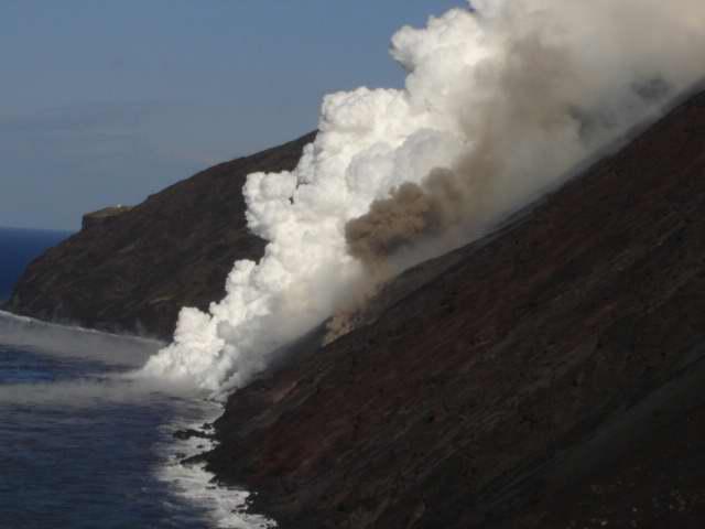 Sotto Eolie vulcani che potrebbero riattivarsi