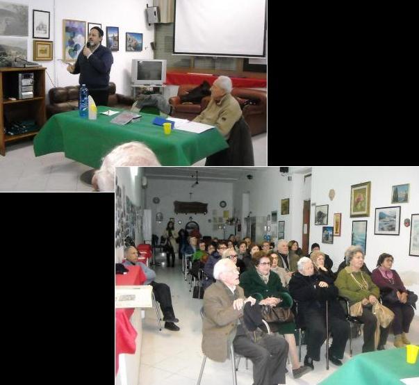 Le conferenze al Circolo dei Pensionati di Lipari