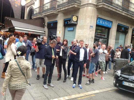 Foto di Coulthard da Barcellona