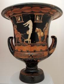 Reperti del Museo di Lipari al Getty Museum