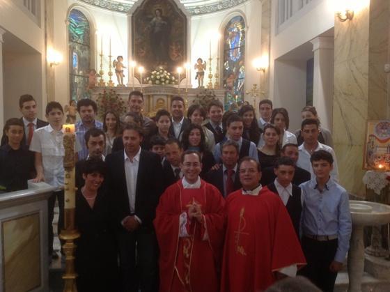 Cresime al Santuario della Madonna del Terzito