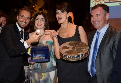 Il ritorno di Maria Grazia Cucinotta a Salina