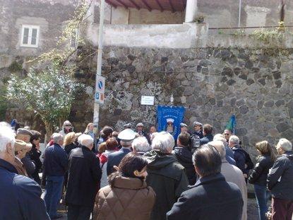 Ecco la piazza Marcello D'Albora