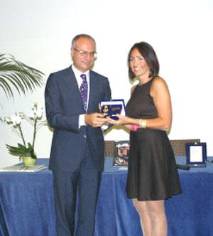 Premio giornalismo Furore 2008 a Daniela Bruzzone