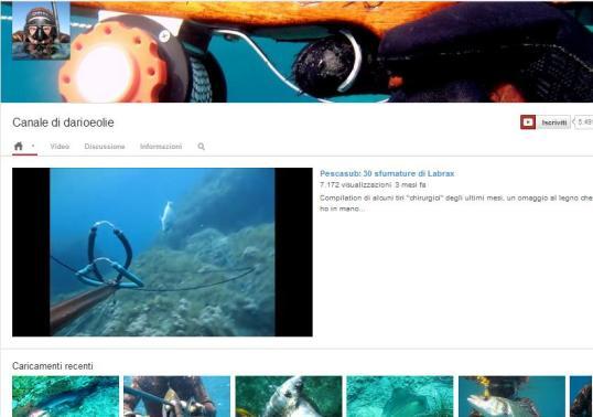 """""""darioeolie"""", il canale più visto su You Tube"""