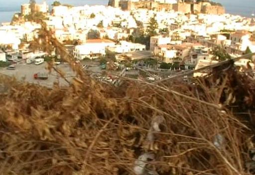 Salita Croci, panorama...sulla discarica