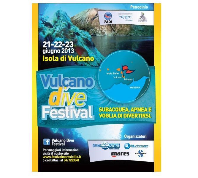 """A Vulcano il """"Dive Festival"""""""