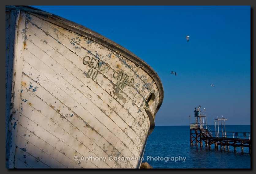 La barca ex Genio Civile in mostra in Australia