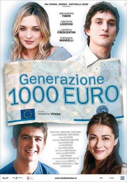 """ Generazione 1000 Euro"" al cine Hollywood"