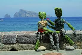 Arte scultorea alle isole Eolie