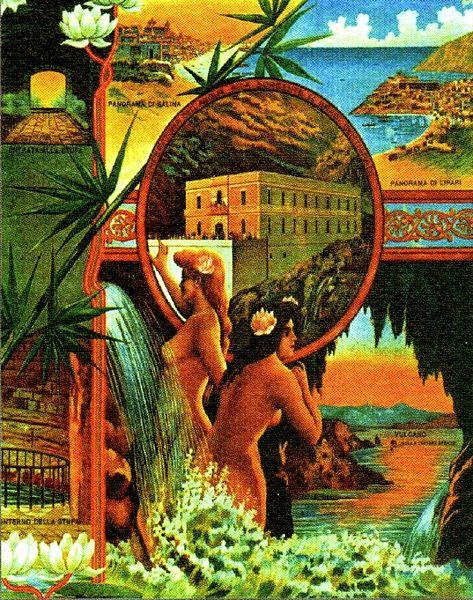 Lipari e le antiche terme di San Calogero