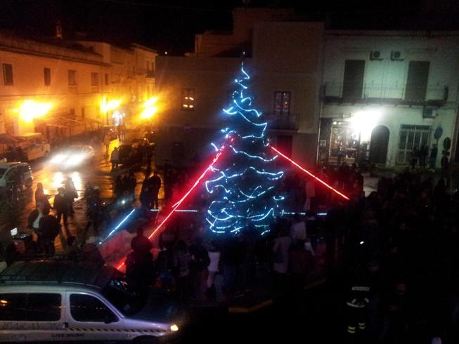 Lipari e Vulcano: non è Natale senza l'albero!