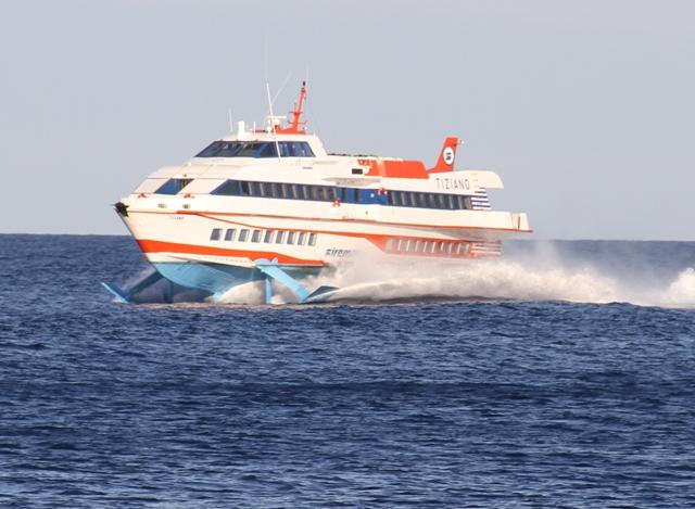 Collegamenti marittimi: itinerari-orari estivi