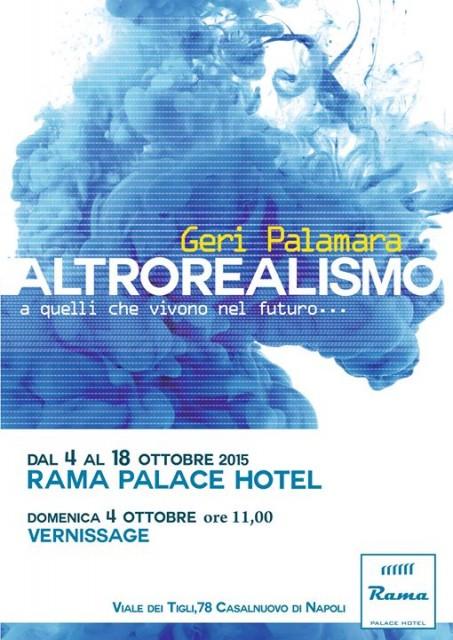 Altrorealismo: la mostra dell'eoliano Geri Palamara a Casalnuovo di Napoli