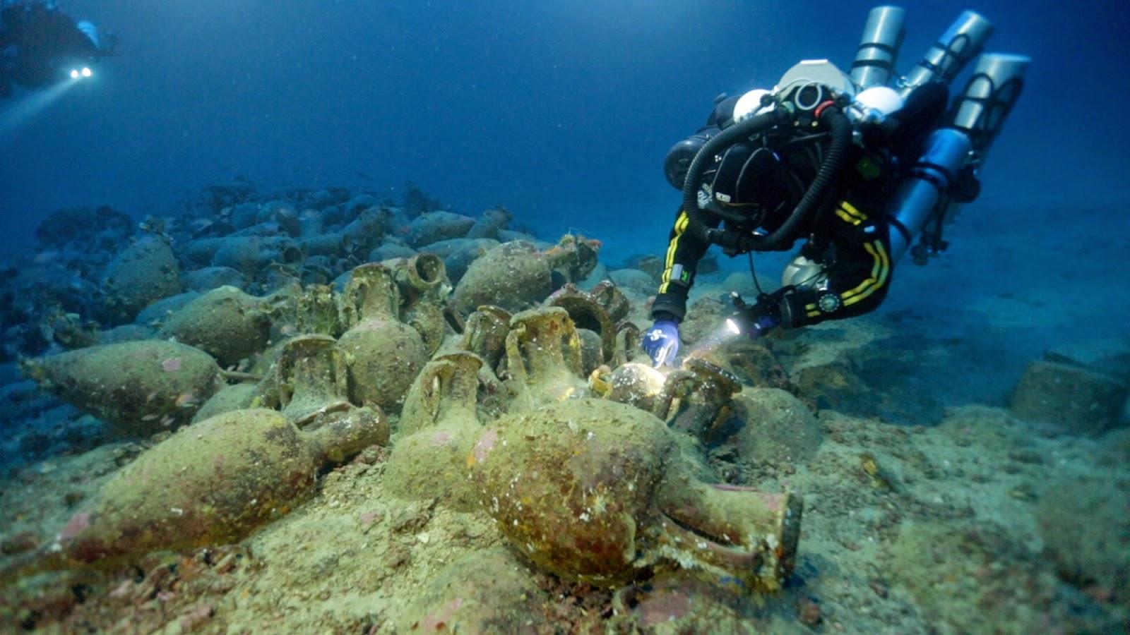 Archeologia subacquea alle Isole Eolie