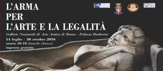 L'Arma per l'Arte e la Legalità - La Mostra