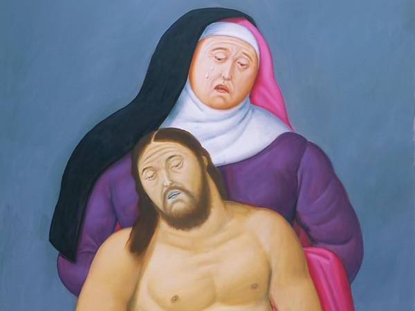 Botero. Via Crucis. La passione di Cristo.