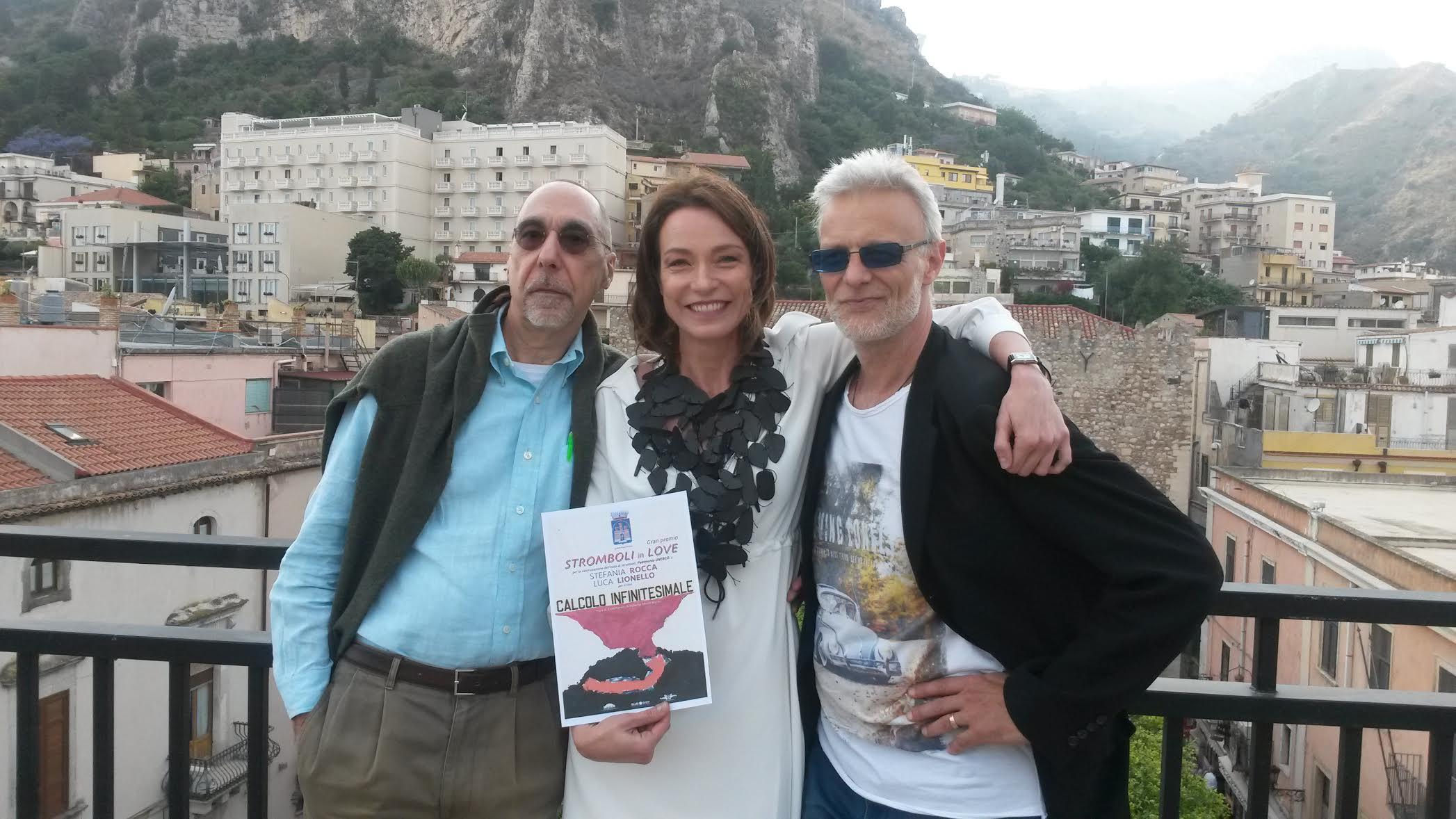 """A Taormina il Premio Stromboli in Love a """"Calcolo Infinitesimale"""""""