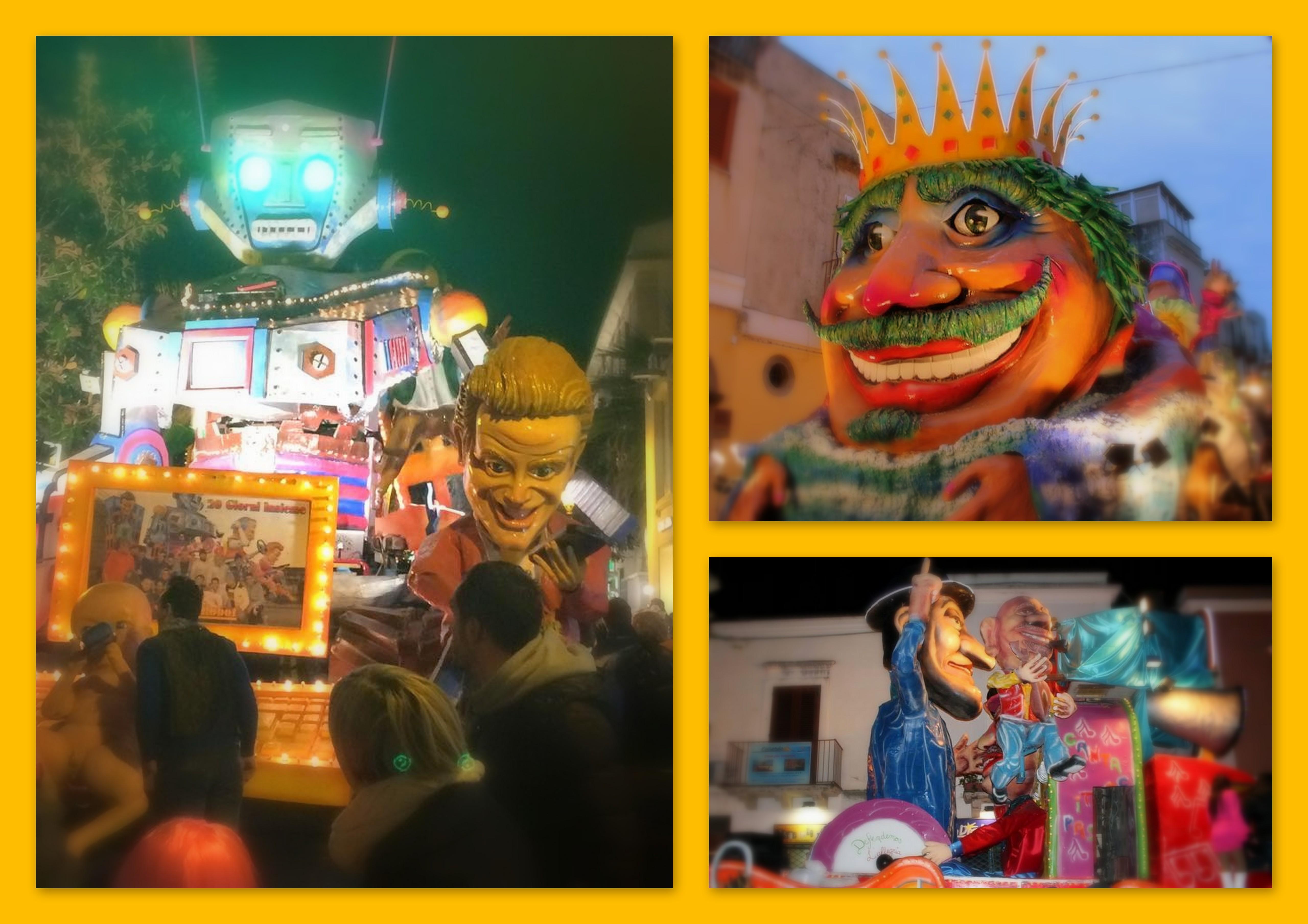 Signori e Signori, ecco a voi i carri del Carnevale eoliano 2015